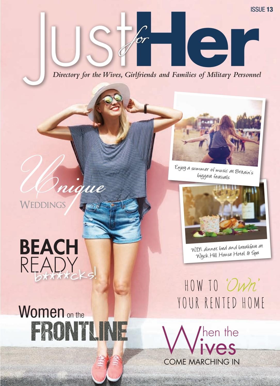 0220a148f0c Just for Her Issue 13 by Forces   Corporate Publishing Ltd - issuu