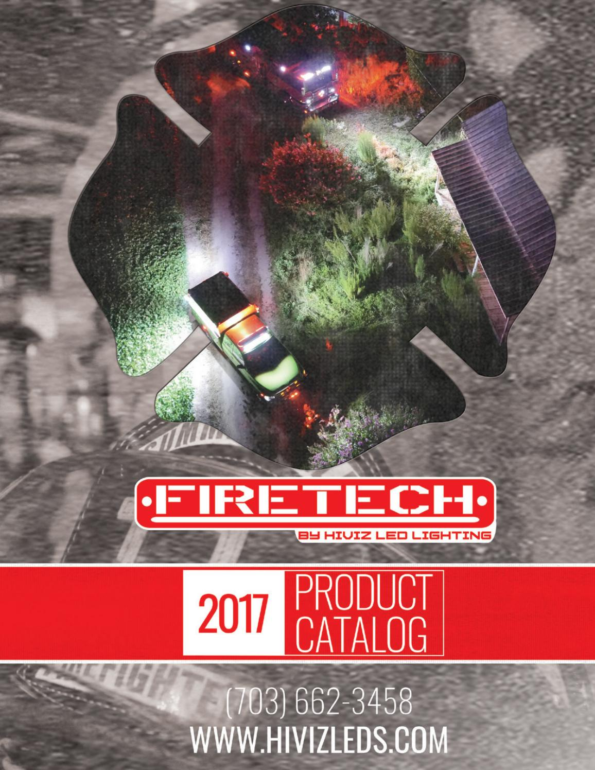 2017 Hiviz Leds Firetech Catalog By Led Lighting Issuu Light Bar Additionally 12v Wiring On Flood Hid Work