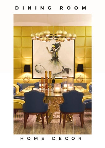 Dining room ideas interior design trends 2018 - Home & Living by ...