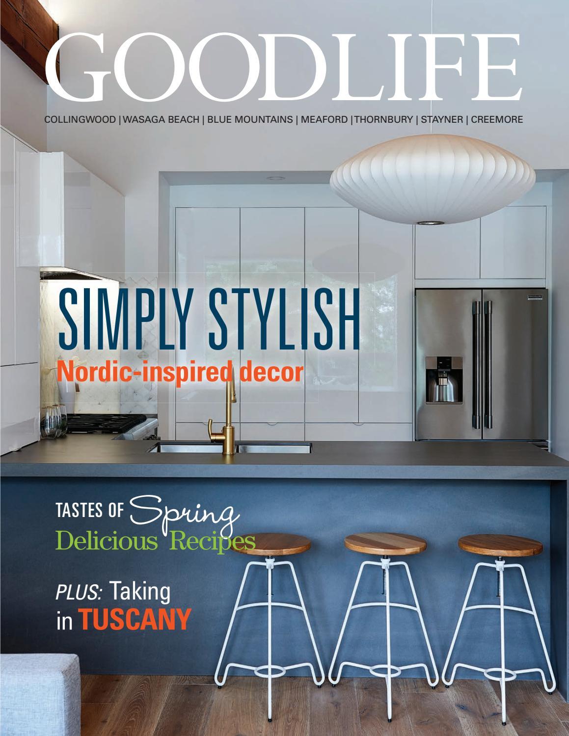 GOODLIFE GEORGIAN BAY SPRING 2017 by GoodLife Magazine - Simcoe ...