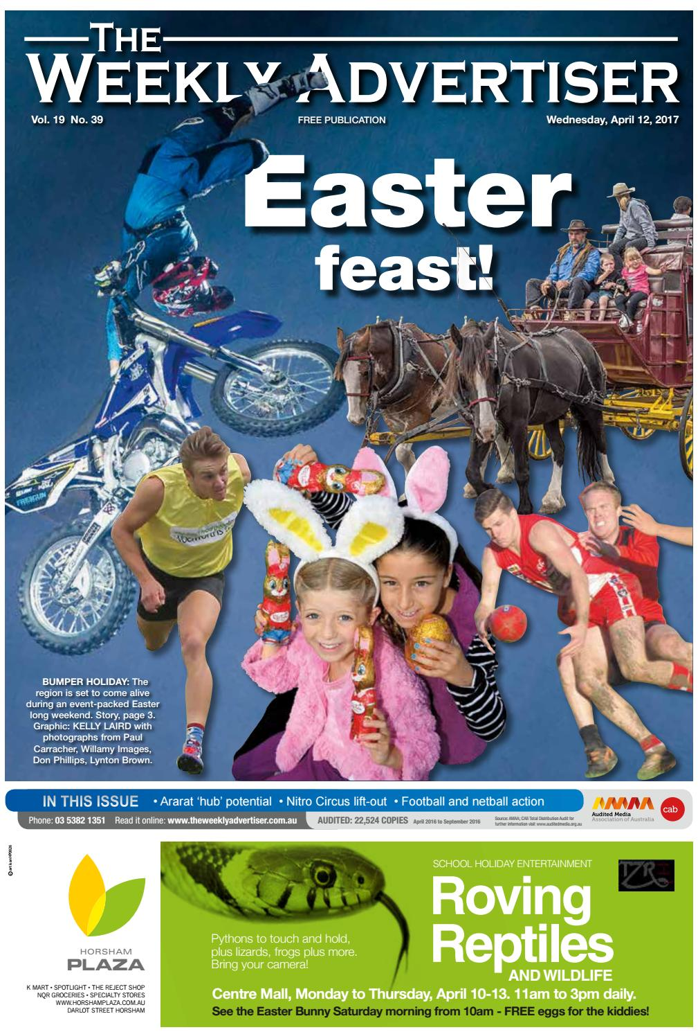 The Weekly Advertiser - Wednesday, April 12, 2017 by The Weekly Advertiser  - issuu