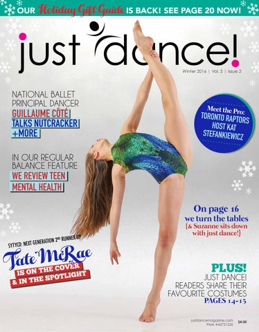 8eaeb964c03dd just dance! | Winter 2016 | Vol 4 | Issue 7 by just dance! magazine ...