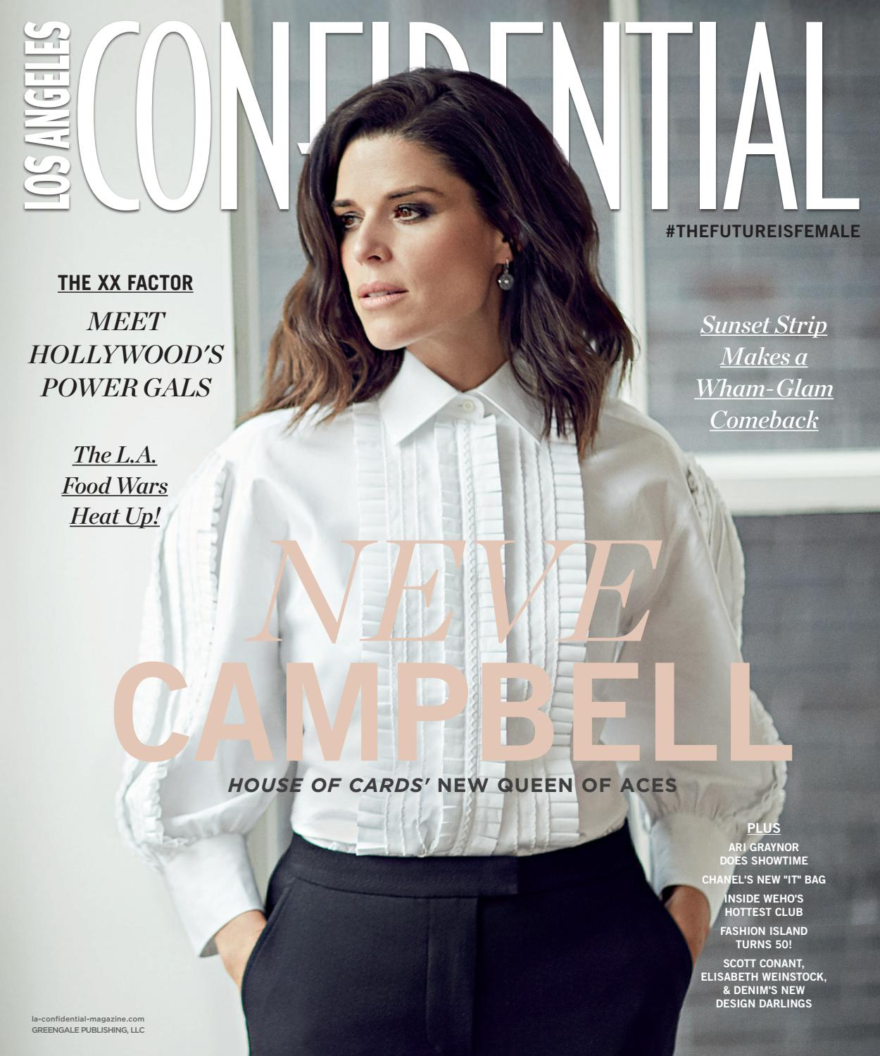 Los Angeles Confidential - 2017 - Issue 2 - Late Spring - Neve Campbell