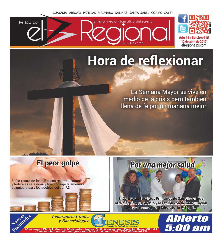 Peri Dico El Regional Edici N 915 By Peri Dico El Regional De  # Ahorro Muebles Cayey
