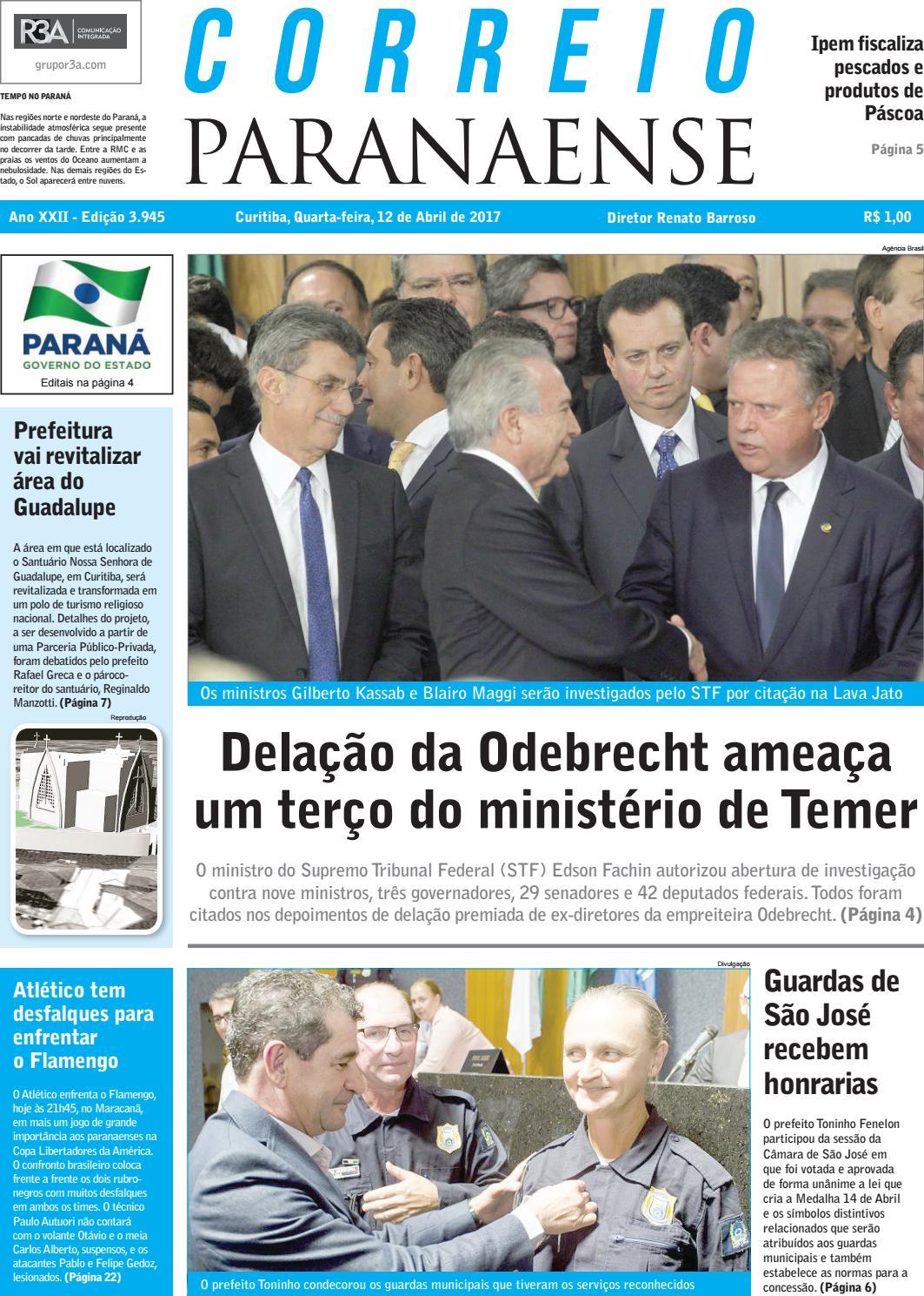 Correio Paranaense - Edição 12 04 2017 by Editora Correio Paranaense - issuu 3110a605bdee5