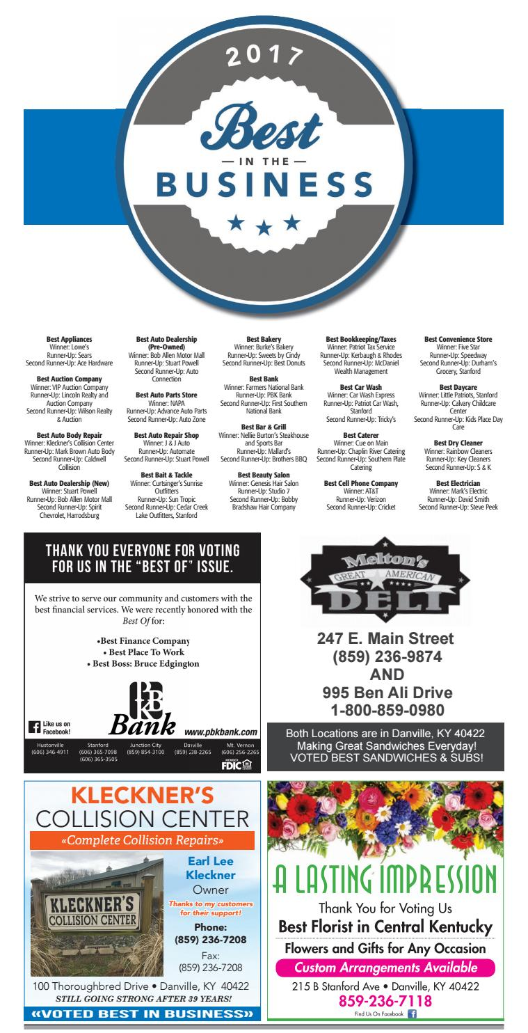 Best in the business 2017 by advocate messenger issuu for Bob allen motor mall used cars