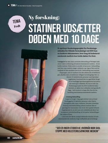 kolesterolmedicin uden statiner
