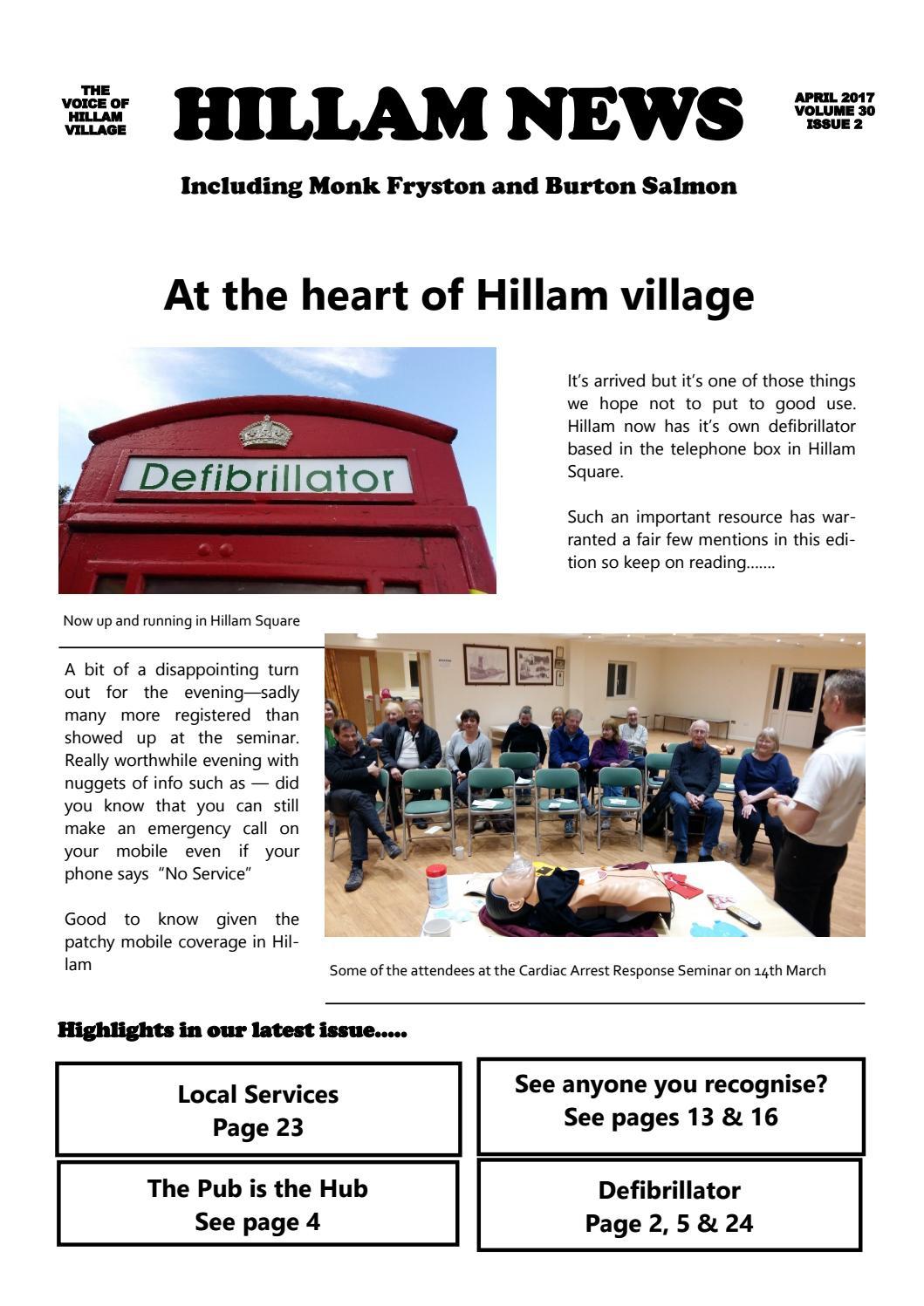 126b47723e7a3 2017 issue 2 april hillam news by Hillam News - issuu