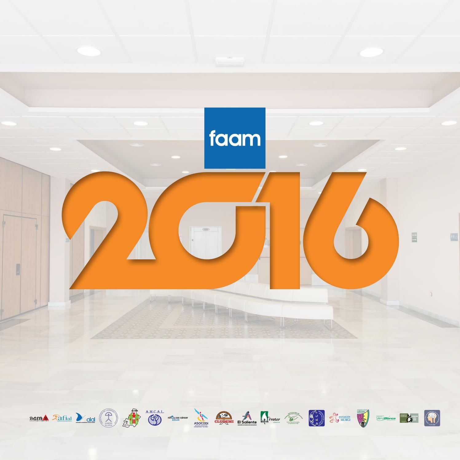 Balance de Gestión FAAM 2016 by FAAM - issuu