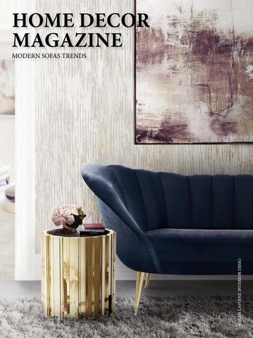 Home decor magazine modern sofas trends - Home & Living by COVET ...