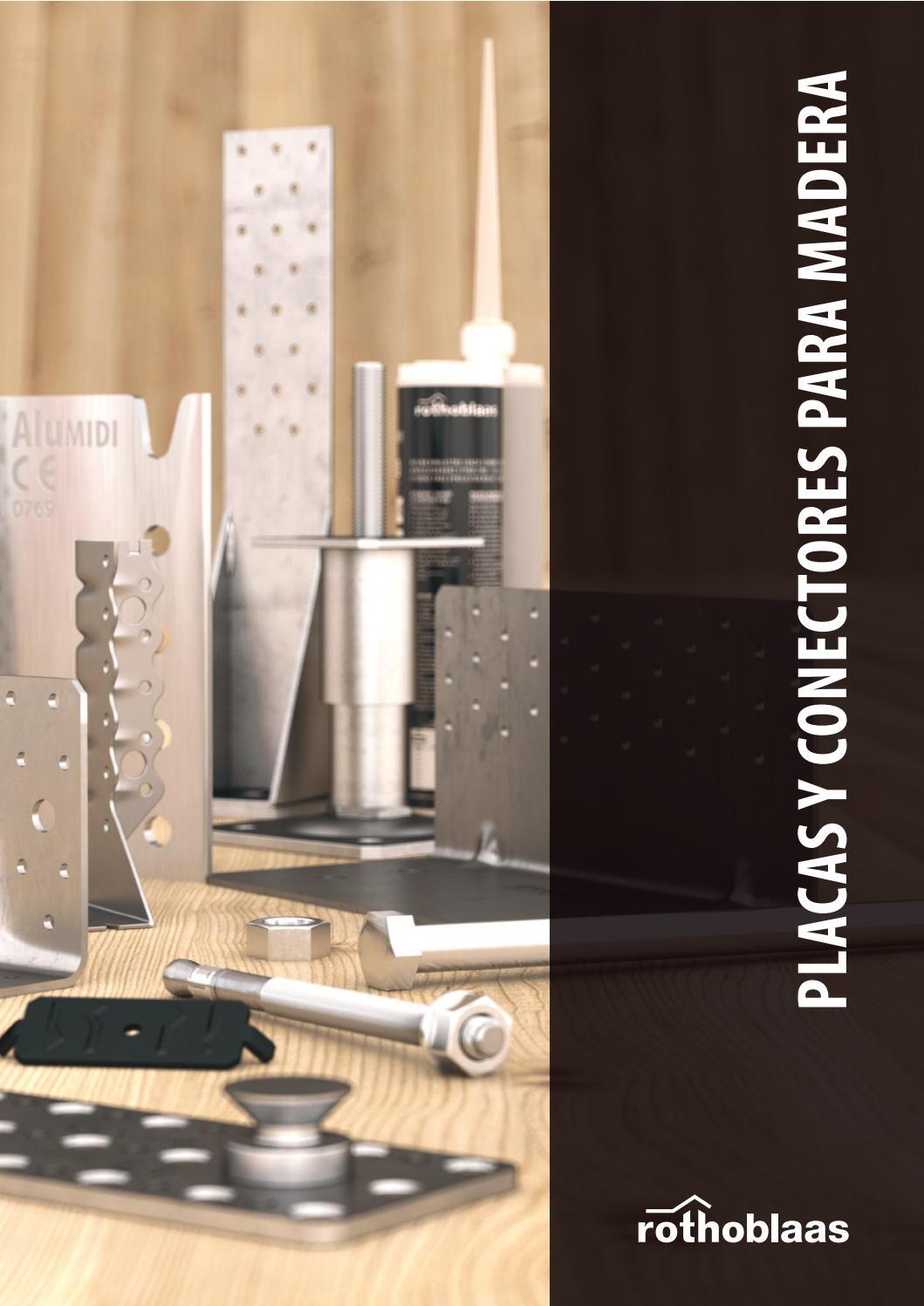Placas y conectores para madera - es by Rothoblaas - issuu