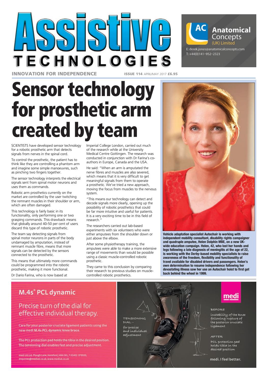 Assistive Technologies April/May 2017