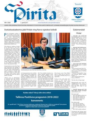 9aa40efed72 Pirita ajaleht aprill 2017 by Piritalinnaosavalitsus - issuu