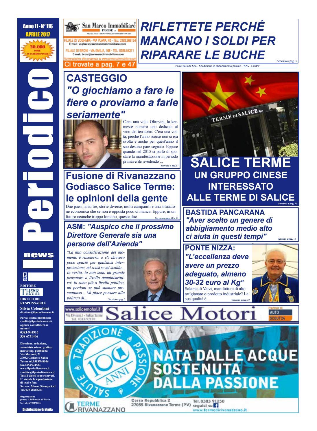 Il Periodico News - APRILE 2017 N°116 by IlPeriodicoNews - issuu 982b139bcb8f