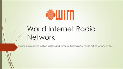 Online Free Internet Music Radio Stations by wirnideaonline