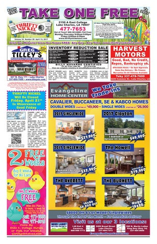 April 13, 2017 Edition of the Lake Charles Thrifty Nickel by ... on