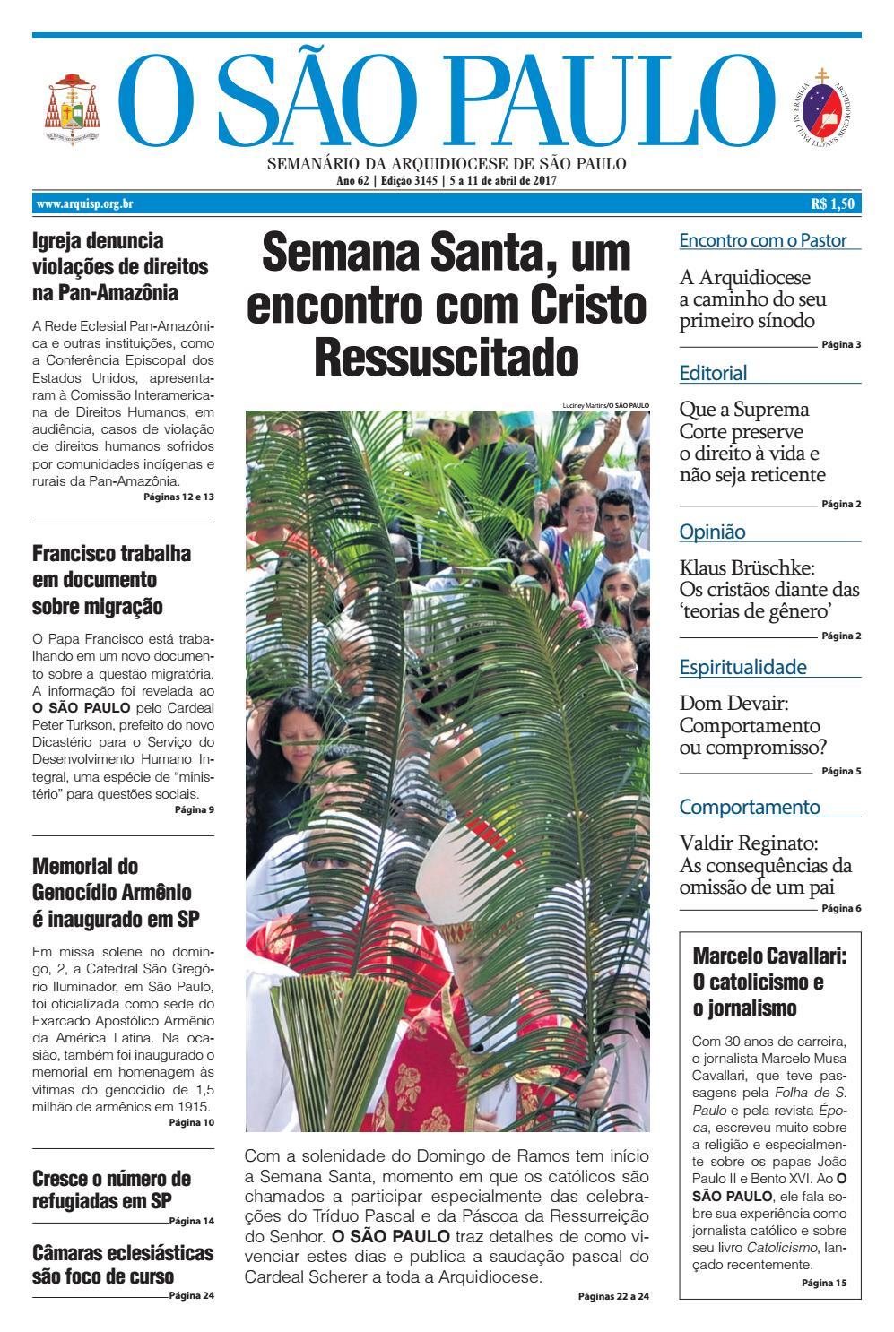 afa6d01019 O SÃO PAULO - 3145 by jornal O SAO PAULO - issuu