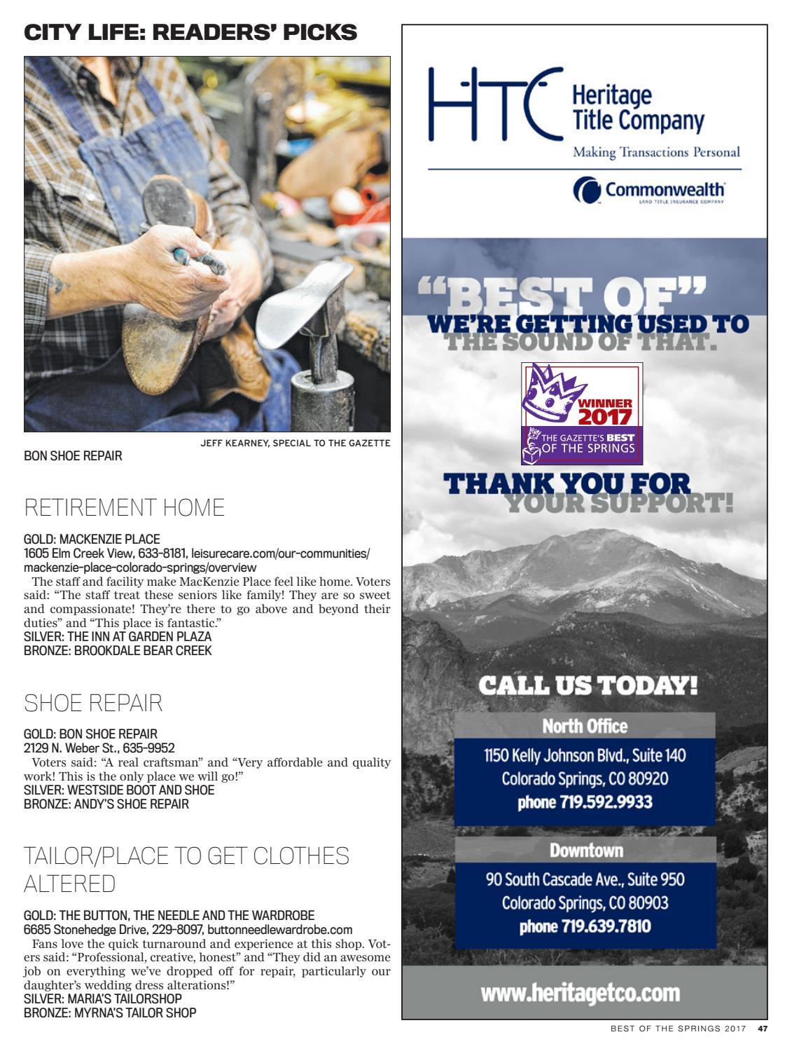Westside Boot And Shoe Repair Colorado Springs