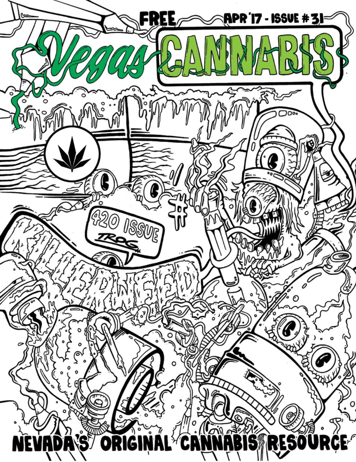 vegas cannabis magazine by vegas cannabis magazine issuu - Cannabis Coloring Book