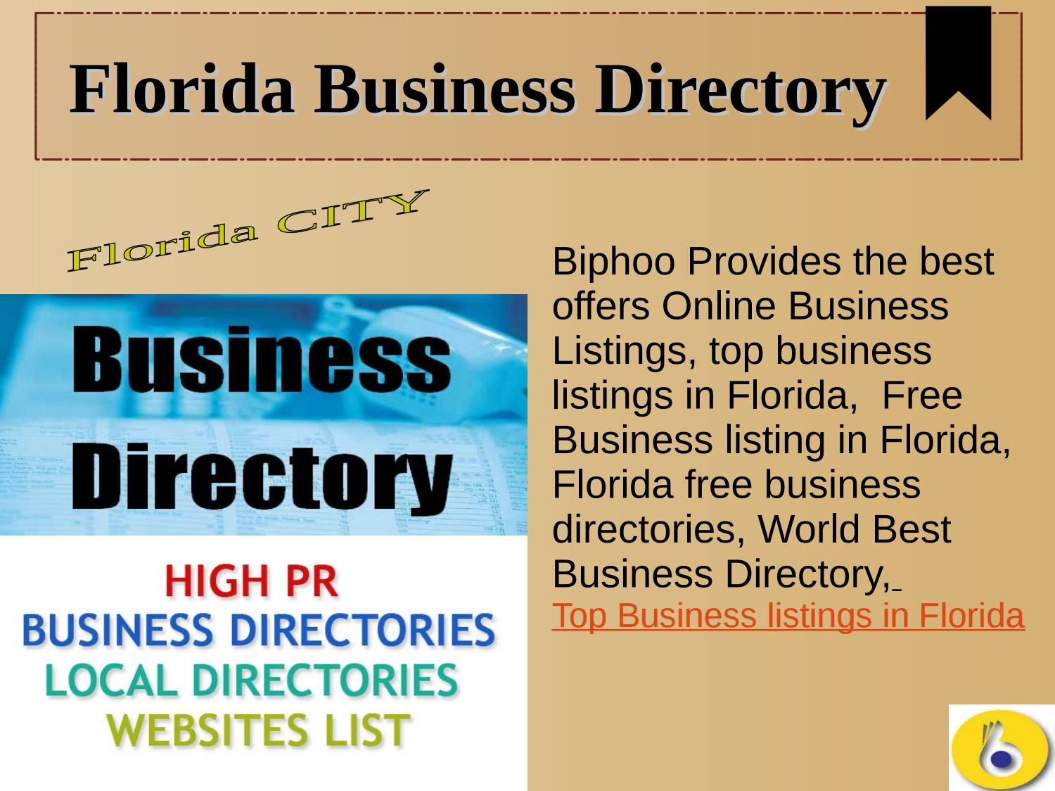 Florida business listing by florida Business Directory - issuu