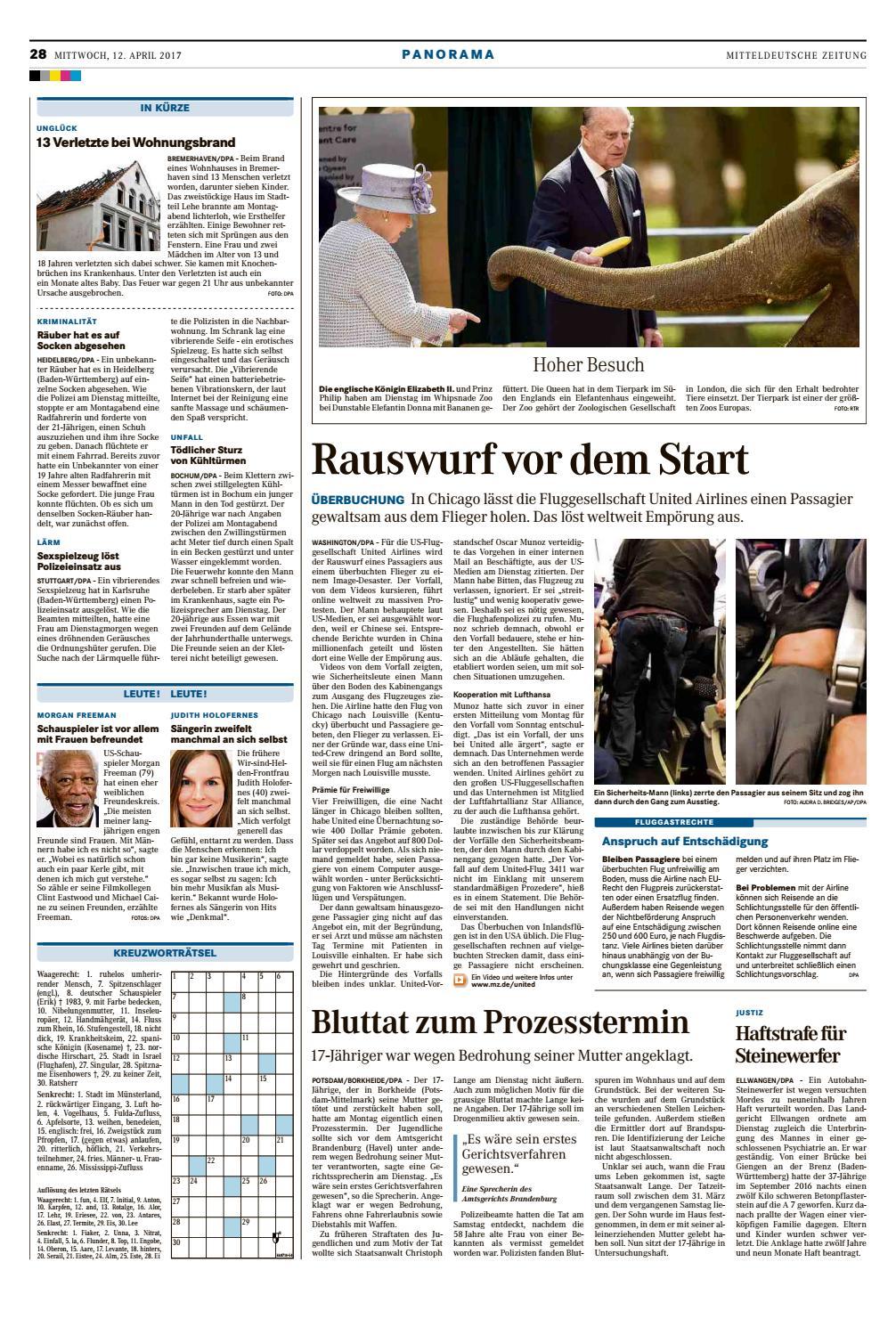 MZ Halle Saalekreis 12.04.2017 by Mediengruppe