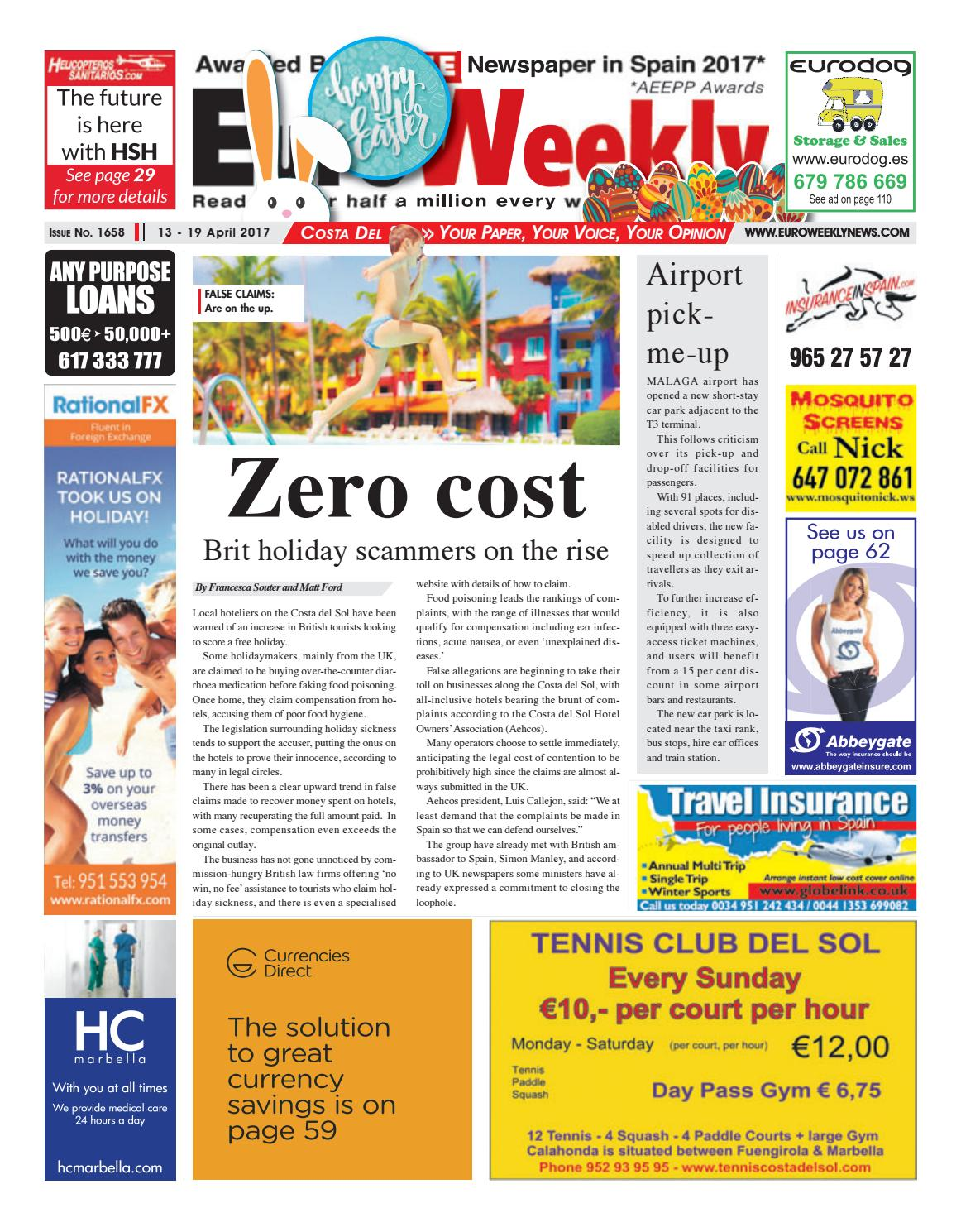 Euro weekly news costa del sol 13 19 april 2017 issue 1658 by euro weekly news costa del sol 13 19 april 2017 issue 1658 by euro weekly news media sa issuu fandeluxe Image collections