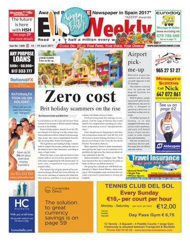 Euro Weekly News Costa Del Sol 13 19 April 2017 Issue