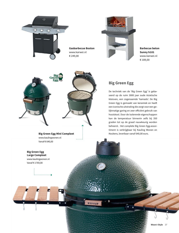 Betonnen Barbecue Karwei.Woon In Style Editie 1 Voorjaar 2017 By Uitgeverij De