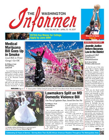 The Washington Informer - April 13 2017