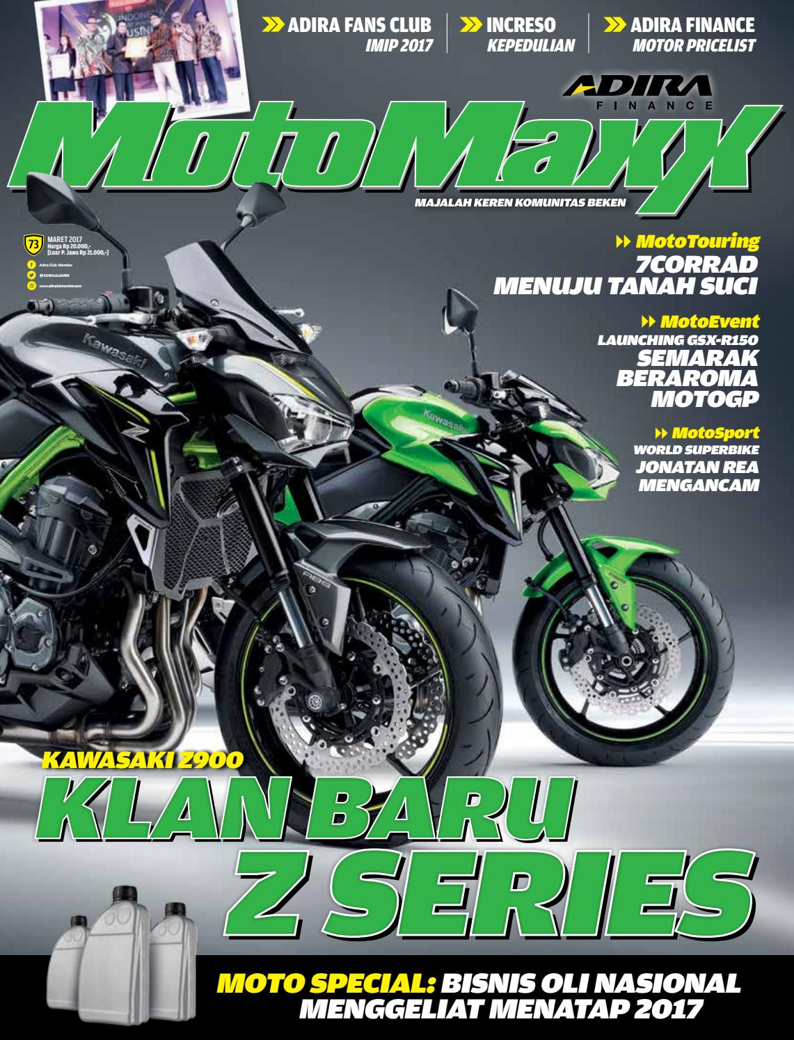Motomaxx 03 2017 By Adira Member Issuu New Vario 110 Esp Cbs Advanced Matte Grey Sukoharjo