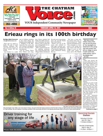 e5de0eeee The Chatham Voice, April 13, 2017 by Chatham Voice - issuu