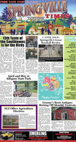 4-14-17 Springville Times by Ellicottville Times - issuu