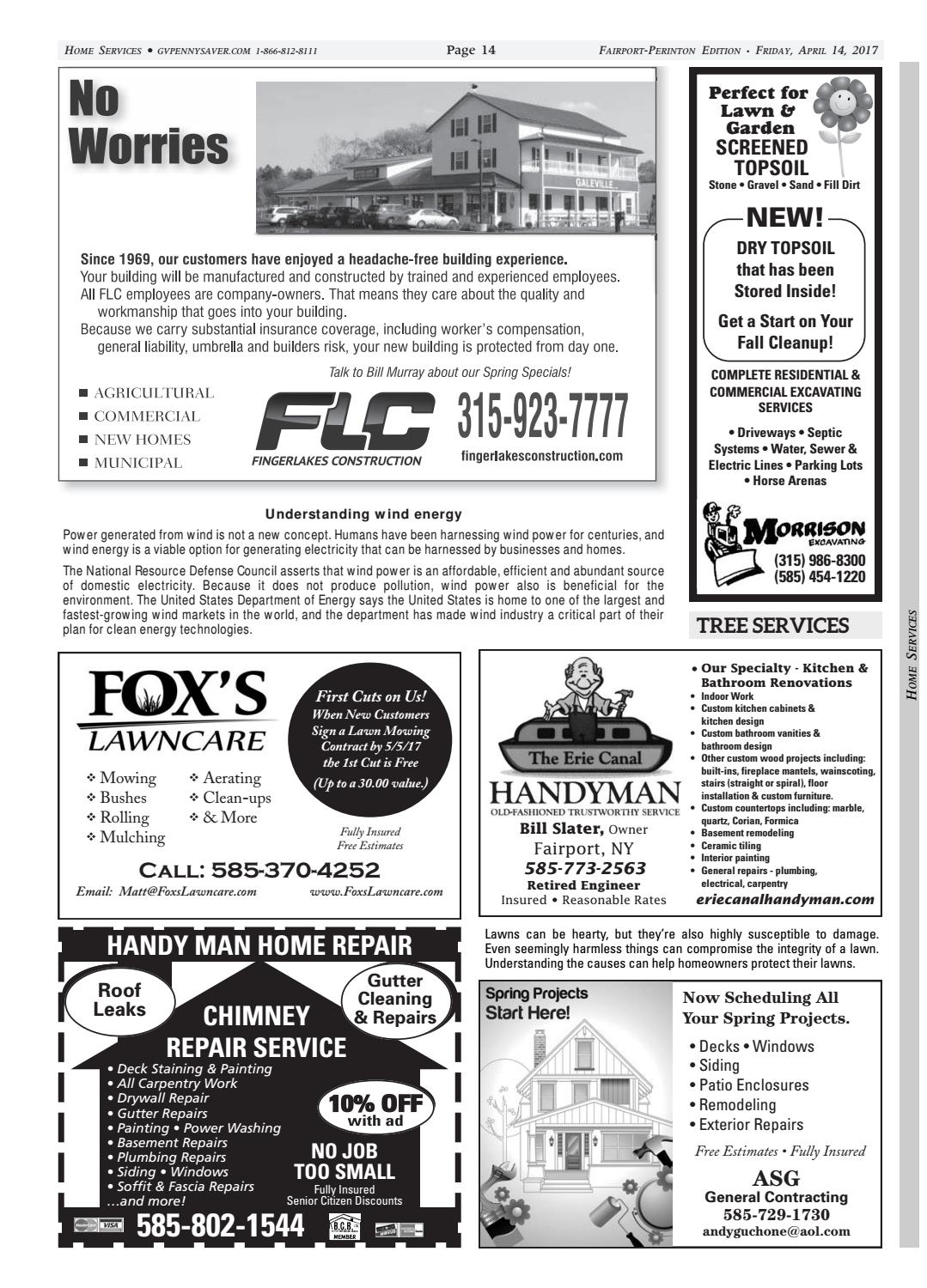 The Genesee Valley Penny Saver Fairport-Perinton Edition 4/14/17 by