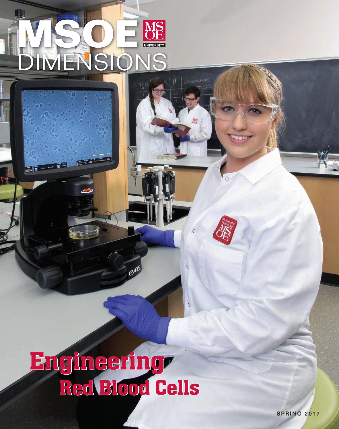 Msoe Dimensions Magazine Spring 2017 By Milwaukee School Of Printed Circuit Board Prototype Product Photosprinted Engineering Issuu