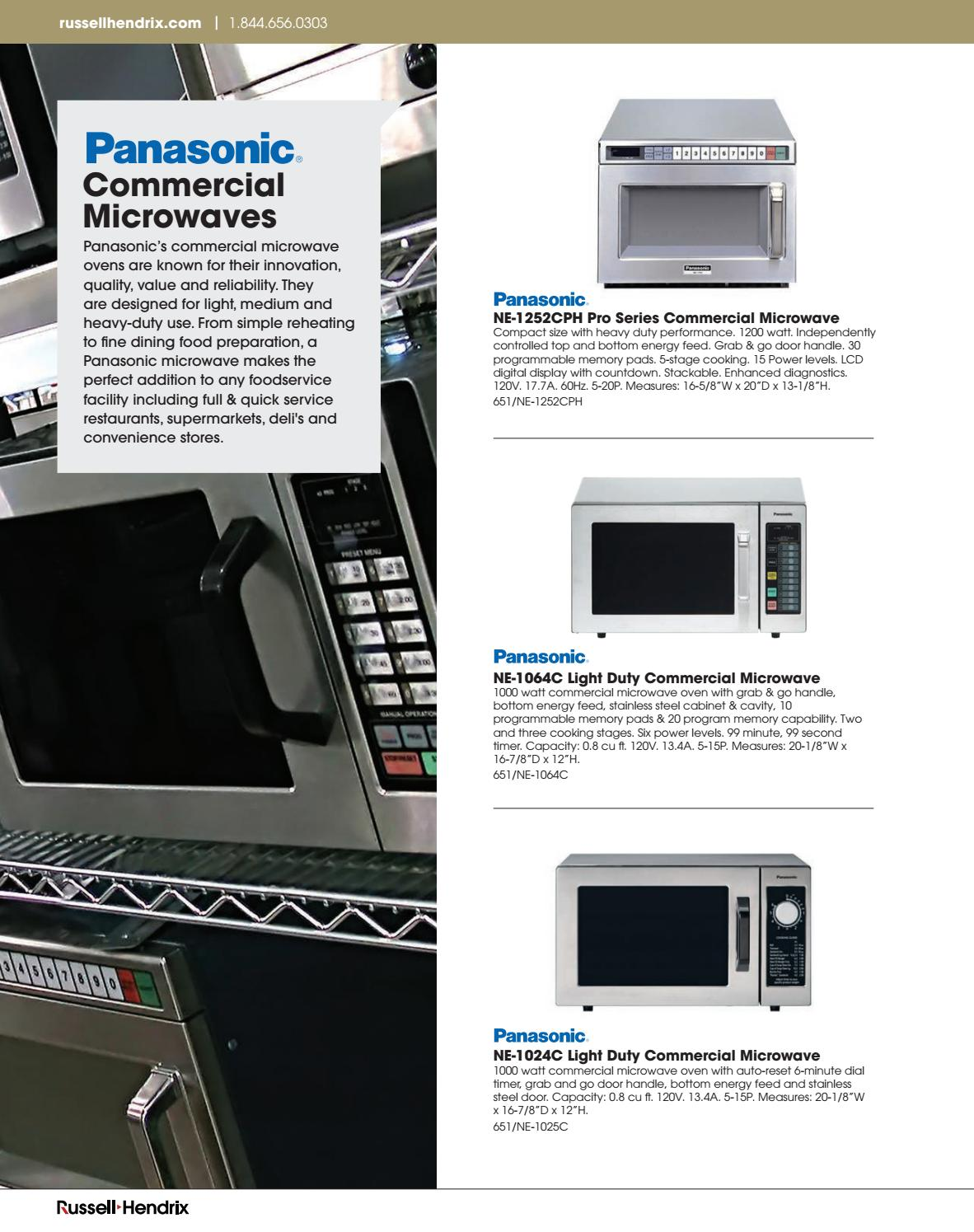 Equipment Catalogue 2017 by Russell Hendrix Foodservice Equipment