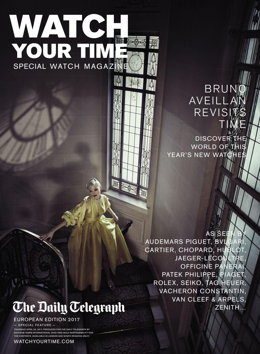Watch Your Time - English - Special Watch Magazine by Watch