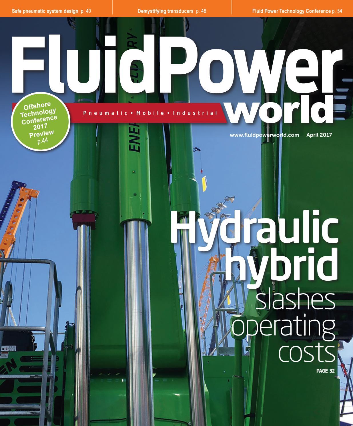 Fluid Power World April 2017 By Wtwh Media Llc Issuu Elprocus 39s Electrical Engineering Blog Eeweb Community