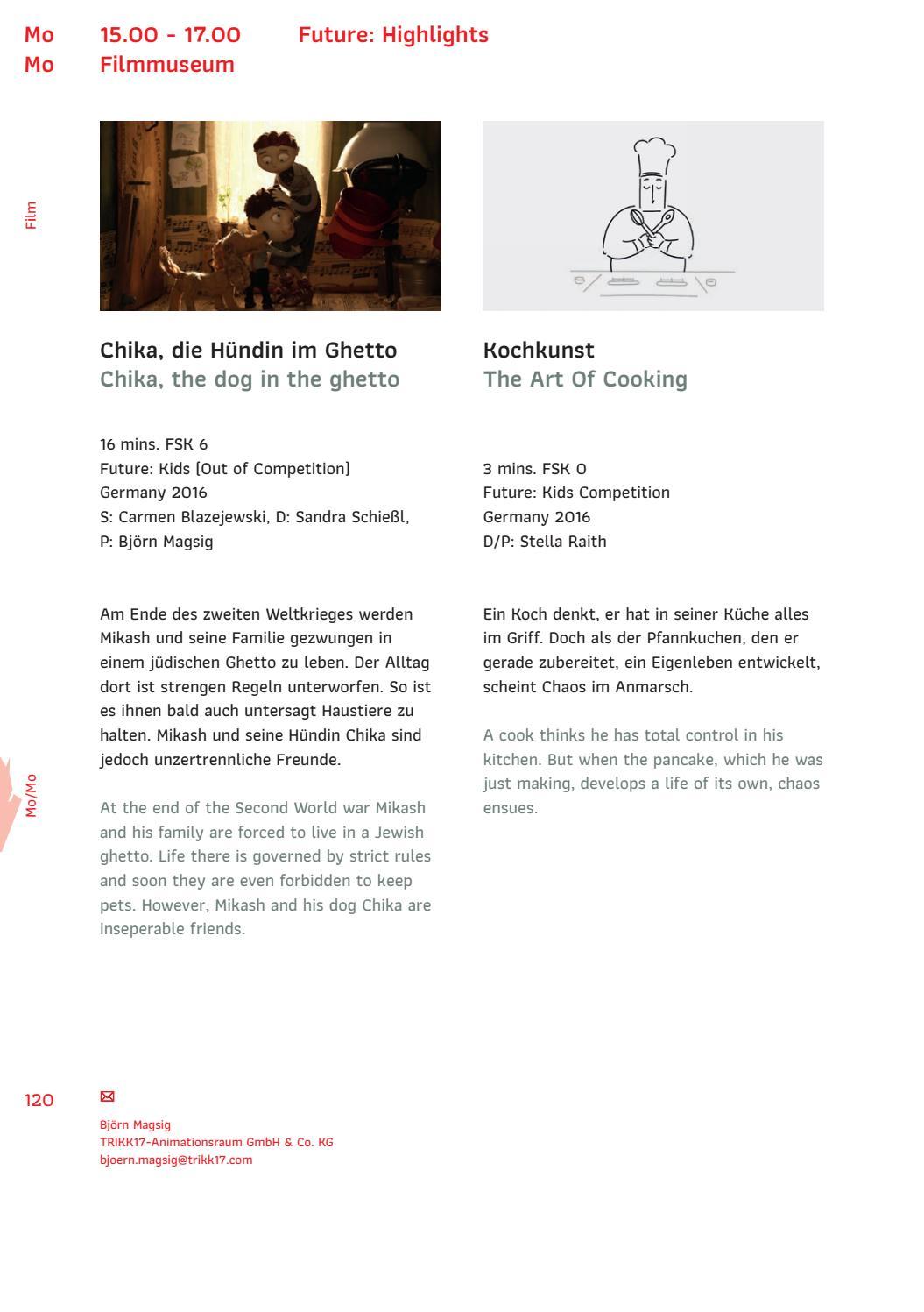 Sehsuchte Program 2017 By Sehsuchte Issuu