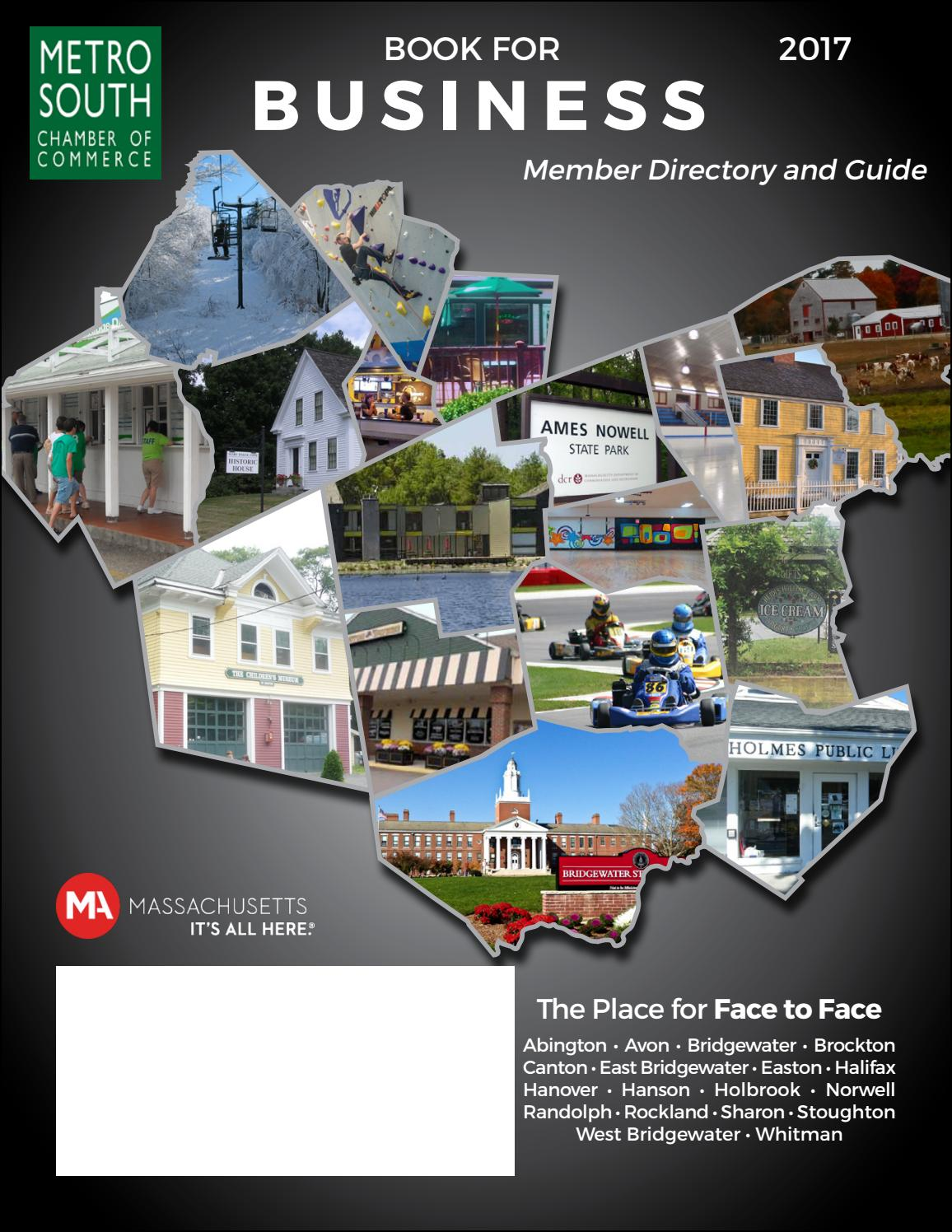 2017 Book for Business by Metro South Chamber of Commerce