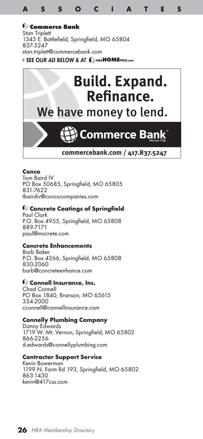 commerce bank battlefield rd springfield mo