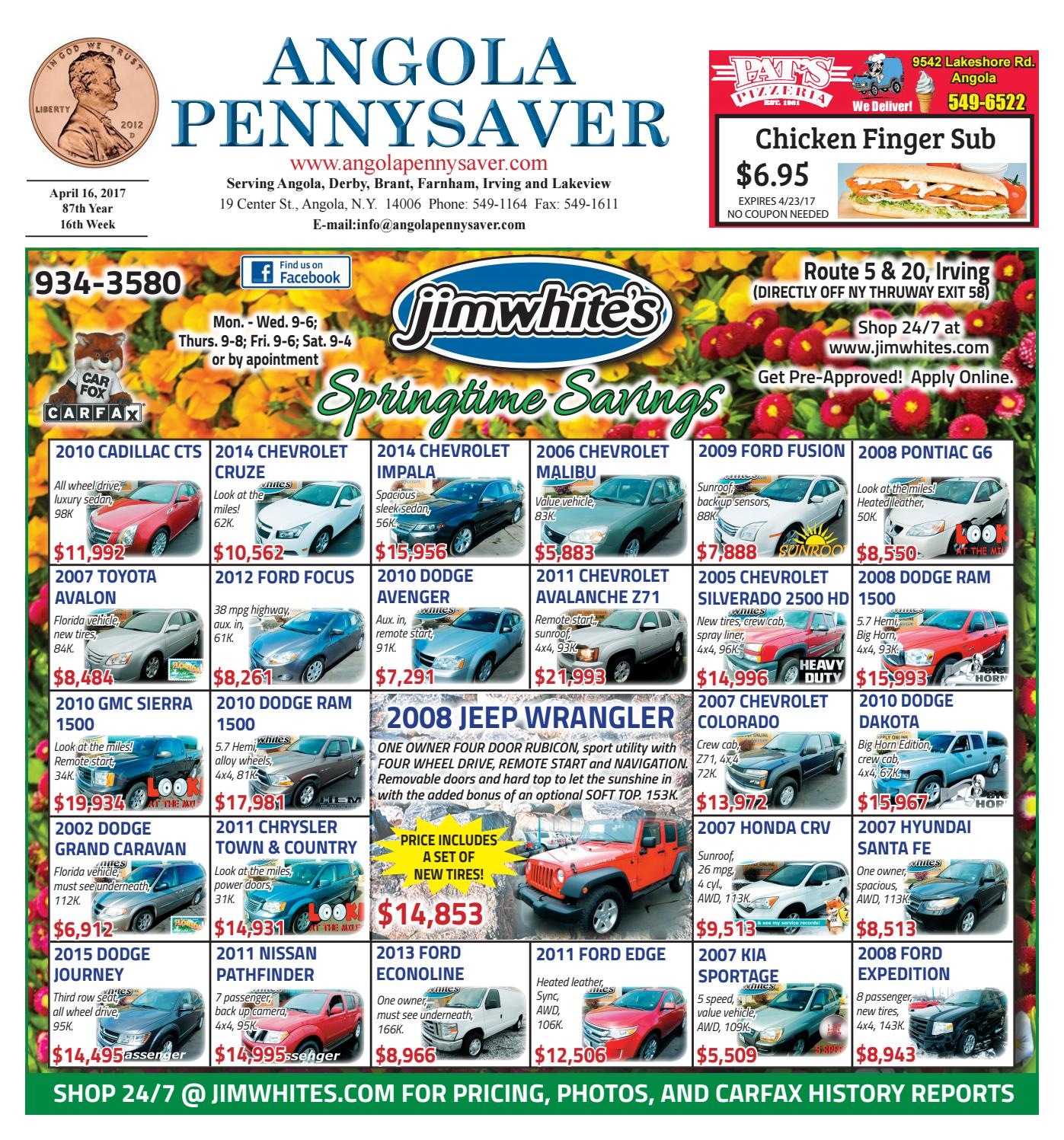 4/16/17 Angola Pennysaver by Angola Pennysaver - issuu