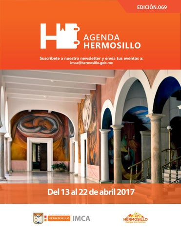 "Cover of ""Agenda Hermosillo 13 abril 2017"""