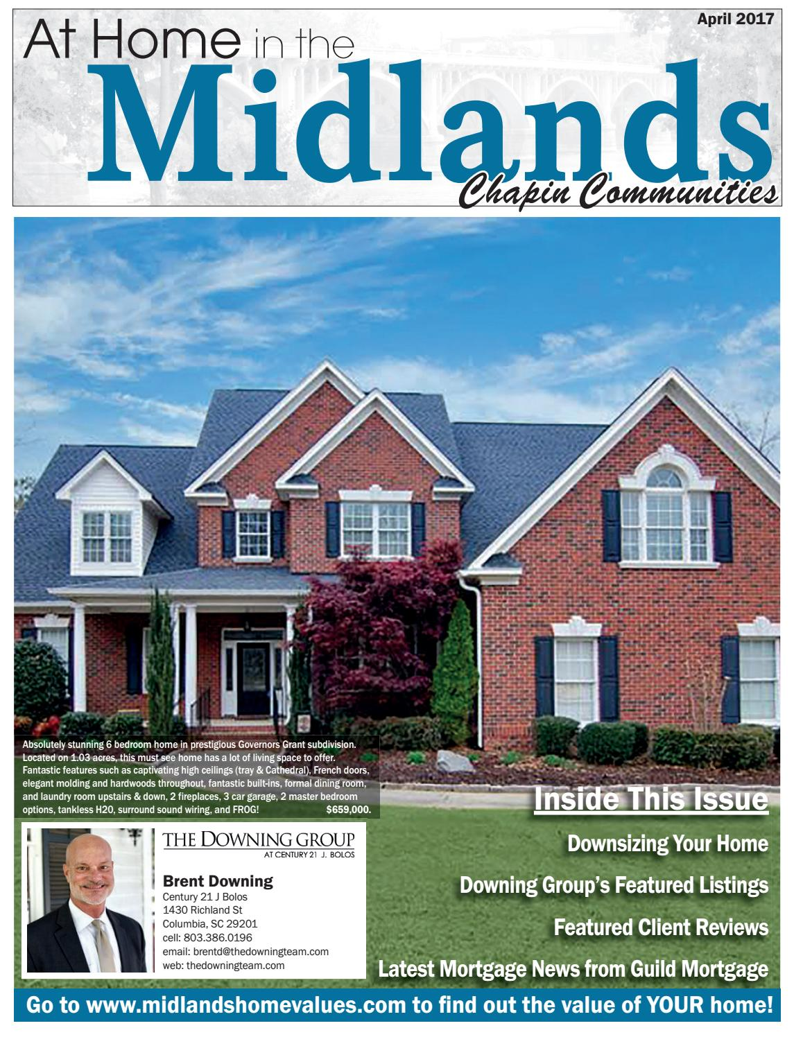 At Home In The Midlands Chapin April 2017 By State Media Wiring A House For Sound Company Issuu