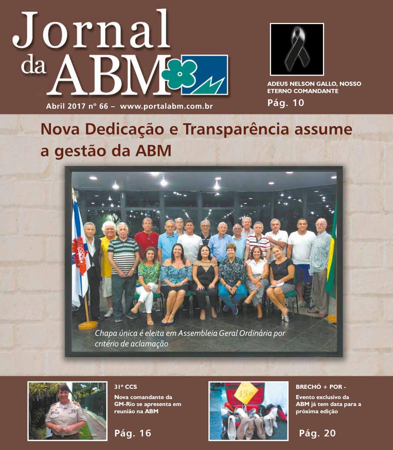 aba488143f5 Jornal da ABM 66 by Comunicação ABM - issuu