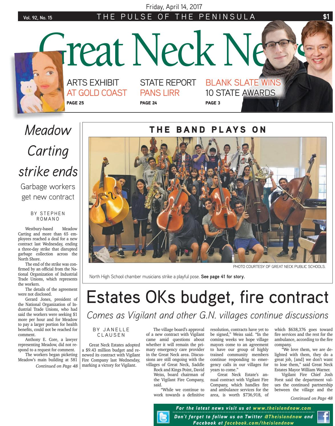 Great neck news 04 14 17 by The Island Now - issuu
