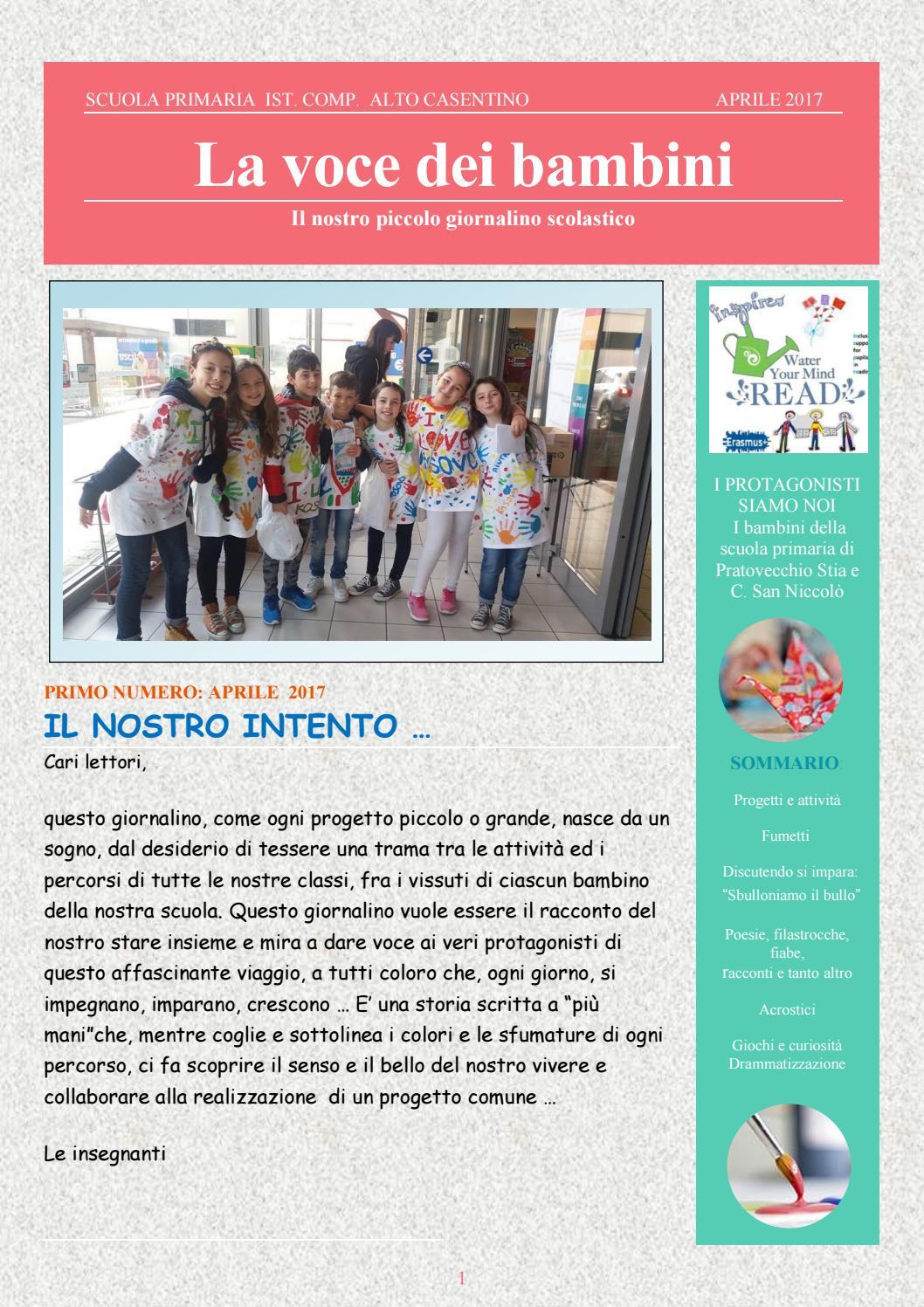 Giornalino Italy By Stefania Boschi Issuu