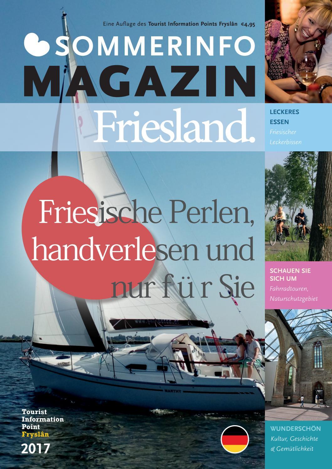 Sommerinfo magazine friesland duits 2017 by Tourist Information ...
