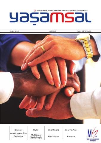 Yaşamsal Dergisi Sayı 4 By Türkiye Ms Ankara Issuu