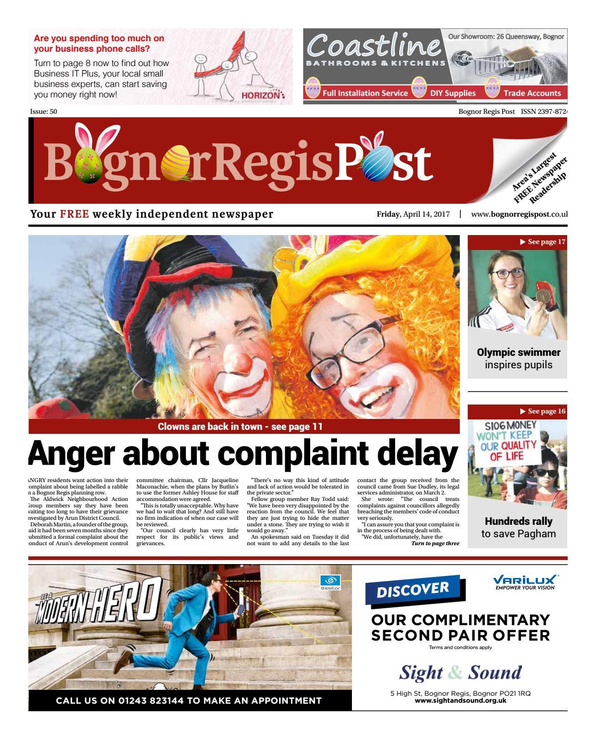 Bognor Regis Post Issue 50 By Newspapers