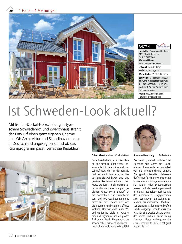 Pro Fertighaus 5/6 2017 By Fachschriften Verlag   Issuu